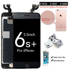 For iPhone 6S 6 8 7 5S 5C Touch Screen LCD Digitizer Replacement+Button&Camera