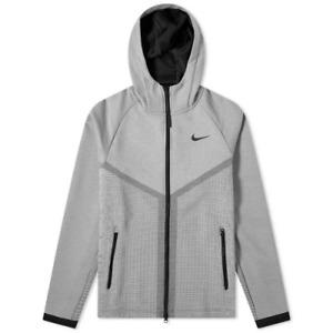 $160 Nike Windrunner Tech Pack Full-Zip Hoodie Jacket grey, sz XL (CJ5147-073)