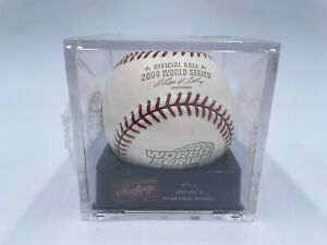 New Sealed Rawlings 2004 Official World Series Game Baseball Boston Red Sox