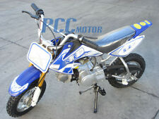 Free shipping Coolster-210 KIDS 4 STROKE 70CC DIRT BIKE BLUE