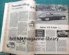 Autocar May 1965 49th Targa Florio Brabham Viva GT - Road Test Jaguar E-type 4.2