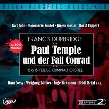 Paul Temple und der Fall Conrad - Hörspiel - Pidax mp3 CD/NEU/OVP