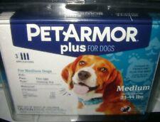 PetArmor PLUS FOR Medium 23-44 Lbs 3 APPLICATIONS new