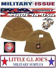 NEW U.S. Military Surplus Issue USMC Marine 100 Gram Polartec 100 Fleece Cap