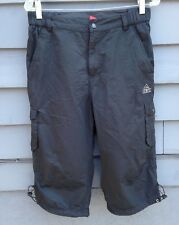 PEAK SHORTS FOR BOYS SIZE LARGE BLACK BEACH SHORTS PRE-OWNED