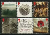 GREAT BRITAIN 2016 WORLD WAR I PART 3  SET  MINT NEVER HINGED