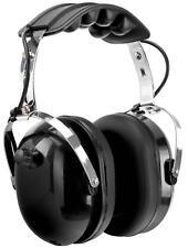 Isolations Kopfhörer Gehörschutz Musik Headphones Aktiv Lärmschutz Weich Schwarz