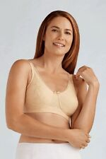 Amoena Soft Cup Mastectomy Bra Style 2114 size 40A Beige NEW