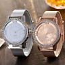 Women Casual Quartz Stainless Steel Watches Marble Dial Watch Analog Wrist Watch