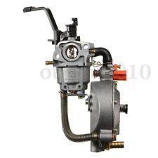 Dual LPG/NG Fuel Carburetor For GX160 168F 1-6KW Water Pump Generator Engine