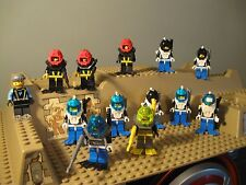 Lego 13 LOT Aquazone Aquaraiders Aquasharks flippers & spear guns minifigures