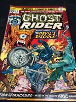 Ghost Rider Marvel Comic #8 Devil's Disciple 1974 Boarded/Bagged UNGRADED