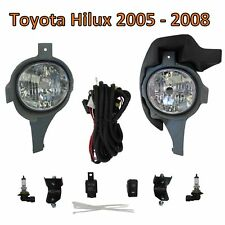 Front bumper Fog Light lamp kit for Toyota Hilux MK6 2005-08 Vigo Pickup spot
