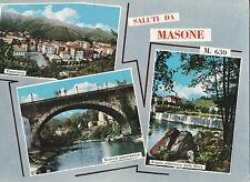 CARTOLINA DI MASONE GENOVA ANNI '60 13-125