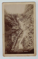 Photo Colorado Springs CO Seven Falls Cheyenne 1890 Union Pacific Denver Gulf RR