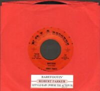 Parker, Robert - Barefootin'/Let's Go Baby Nola 721 Vinyl 45 rpm Record