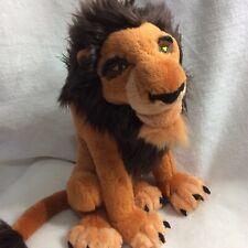 "The Lion King The Movie Scar Villain Plush 14"" Disney Store"