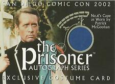 "The Prisoner Volume 1 - SDC-1 San Diego 2002 Exclusive ""Blue Cape"" Costume Card"
