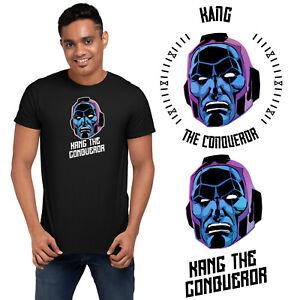 Kang The Conqueror TVA Super Villain Loki Marvel T-Shirt Kids Adults Gift Funny