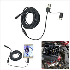 Portable Waterproof 3in1 5.5mm 5M LED Car SUV Endoscope HD Inspection Camera Kit