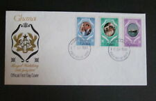 Ghana 1981 Royal Wedding IMPERF SET FDC First Day Cover Princess Diana Charles