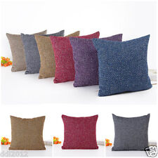 Home Decor Sofa Cafe Office Throw Pillow Cases Waist Cushion Car Cushion Covers