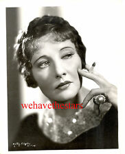 Vintage Betty Blythe GORGEOUS BEAUTY 30s Publicity Portrait