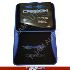 Carbon Tribal Blue/Black Carpet Car Floor Mats Nissan Patrol 4WD