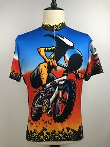 Primal Wear Mens Hammer Head Cycling Jersey Cool Max Bike Size Large
