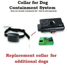 Dog Collar for Electronic Dog Fence Containment Fencing Boundary System Wireless