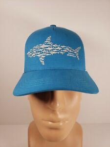 Costa Del Mar Ocearch Huddle Blue & White Trucker Hat - New, Rare, Adjustable!!