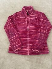 The North Face Girls Fleece Zip Up Jacket, Size 14–16 Large