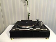 THORENS TD 125 Piano Black Plinth Zarge (without turntable!!)