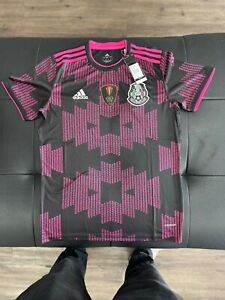 Mexico 2021 Gold Cup Soccer Jersey With Gold Cup Patch