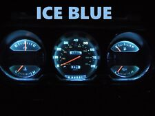 81 89 Dodge Ram D100 D150 D250 D350 Truck Gauge Cluster LEDS Bulb Ice Blue