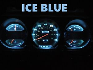 Gauge Cluster LEDS Bulb Ice Blue For Dodge  81 89 Ram D100 - D350 Dash Light