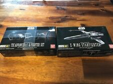 Bandai Star Wars Vehicle 007 Tie Advanced x1 & Tie Fighter And X-Wing Model Kit