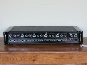 Vintage 1981 HH Electronic MA100 Mk3 Mixer Amplifier 100watts serviced & tested