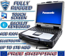 Panasonic Toughbook CF-30 1.6GHz 4-8GB RAM up to 1TB HDD/SSD Rugged Laptop WIN7