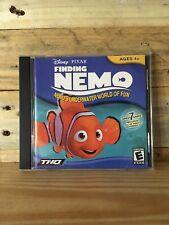 New listing Finding Nemo Nemo's Underwater World of Fun 7 Games Pc Cd-Rom