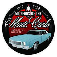 Carlisle Chevrolet Nationals 2020 Monte Carlo Sticker