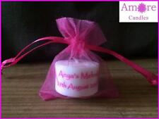 Personalised tealight candle favours (set of 70)