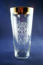 Logen-Glas m. Freimaurer-Motiv Freemason Glass