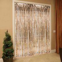 Rose Gold Foil Fringe Curtain Wedding Backdrop Hen Night Party Decoration DIY