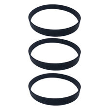 3 Pieces Belts Fits For Dirt Devil Style 15 Vacuum Cleaner Accessories Black