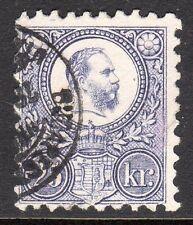Hungary - 1871 Definitive Franz Josef - Mi. 13a VFU (fiscally used) (2)