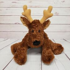 "Hallmark 15"" Comet Reindeer Red Collar Holiday Floppy Plush"