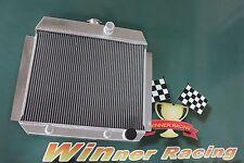 aluminum radiator for Chevy CAR/SEDAN W/350 V8 OR WINDSOR V8 SWAP A/T 1950-1954