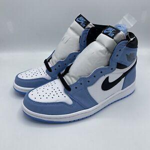 Air Jordan 1 Retro High OG University Blue 555088 134 Size 8.5-10 IN HAND