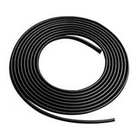 16FT/5M Black Moulding Trim Rubber Strip Car Door Scratch Protector Edge Guard U